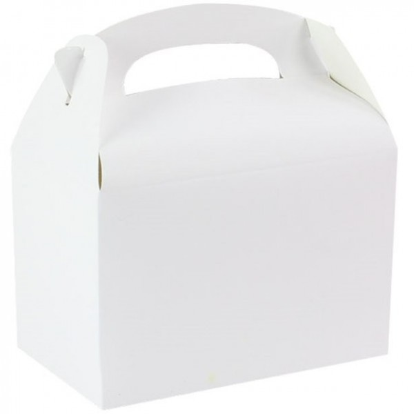 Gift box rectangular white 15cm