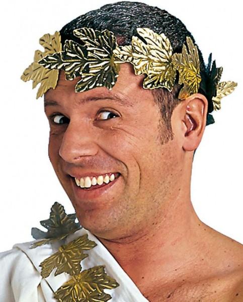 Caesar Lorbeerkranz Gold