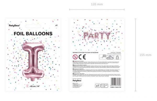 Folienballon I roségold 35cm 5