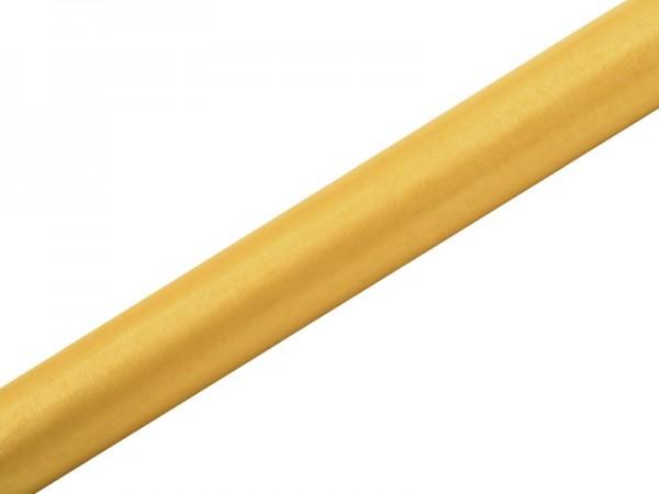 Tela de organza Julie amarillo miel 9m x 36cm