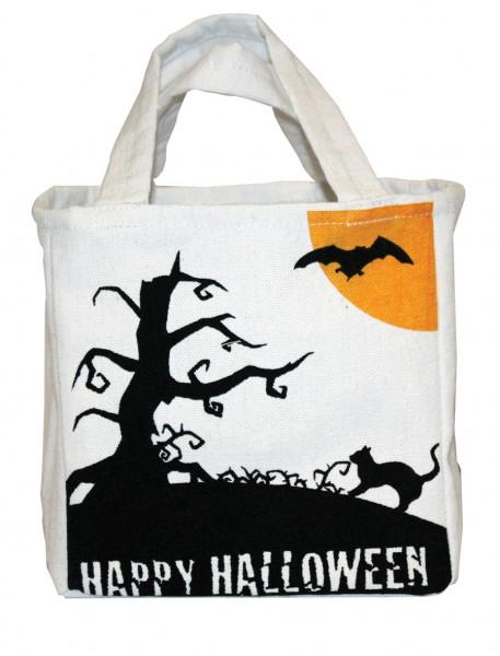 Happy Halloween Süßigkeiten Jutebeutel