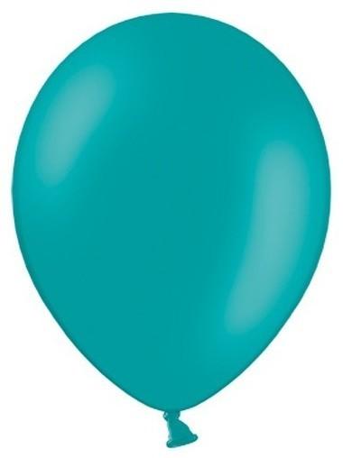 100 Partystar Luftballons türkis 30cm