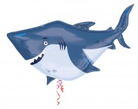 Folienballon Hai Sharky Figur