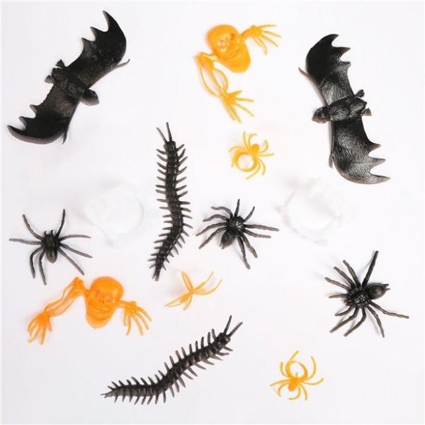 Gruselige Halloween Pinata-Füllung 72 Teile