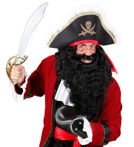 Plastic hooks for pirates