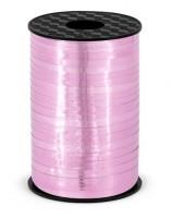 225m Geschenkband Hong Kong metallic-rosa