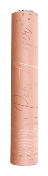 Konfettikanone 28cm Elegant blush roségold