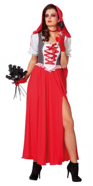 Lady Lucy Rotkäppchen Kostüm Für Damen 1