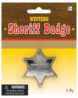 Sheriff Stern silber