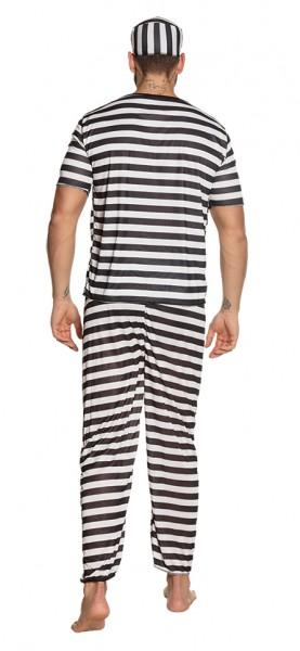 Gefängnis Insasse Herrenkostüm
