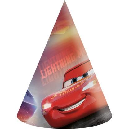 6 Cars Legend Partyhüte 16cm