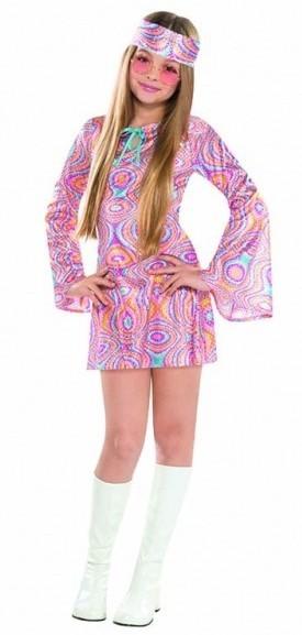Hippie Girl Liz Teenager Kostüm