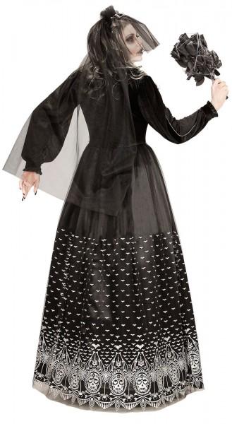 Costume de femme Susy de mariée d'horreur squelette