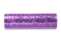 1 Rolle Luftschlangen in Holographic Purple