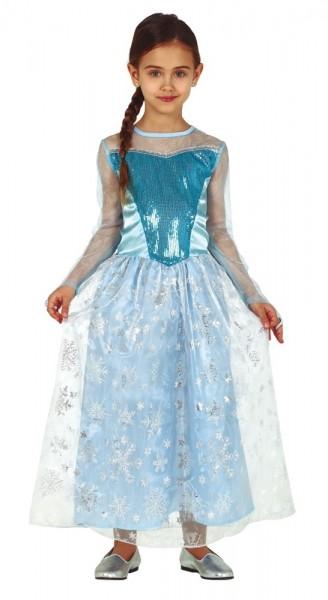 Schneeflocken Prinzessin Kinderkostüm