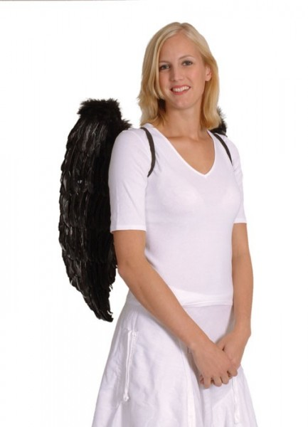 Weiße Federflügel