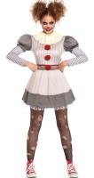 Horror Clown Damen Kostüm Deluxe