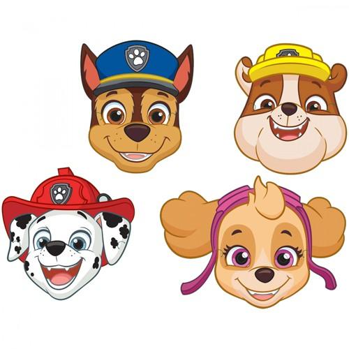 8 Paw Patrol Action Masken