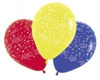 5 Schulanfang Luftballons 30cm