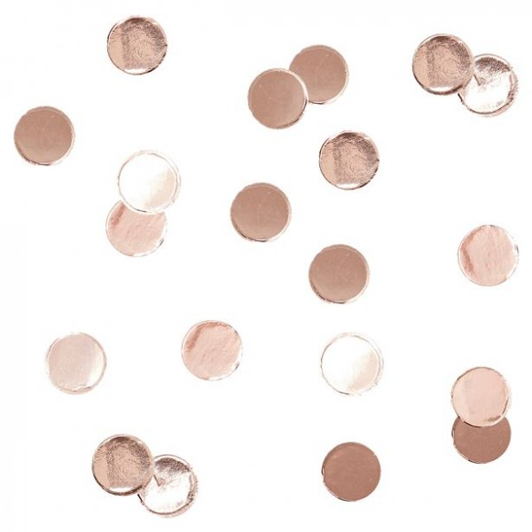Rose gold confetti 14g