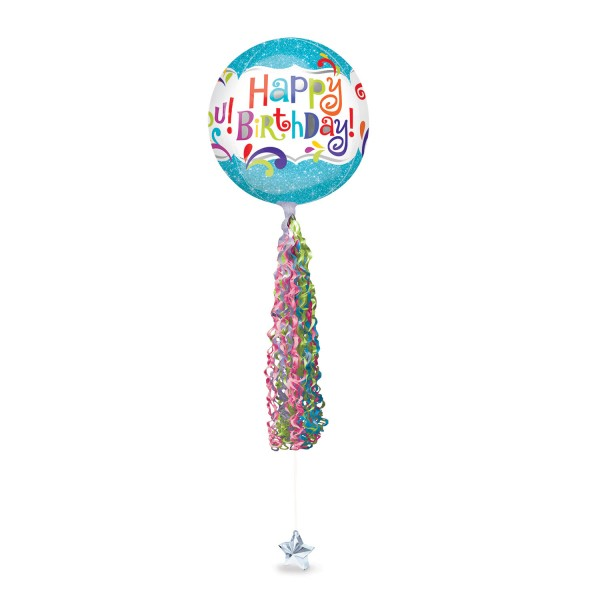 Twirlz balloon pendant Totally Glamorous