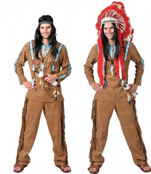 Indianer Starker Bär Herrenkostüm