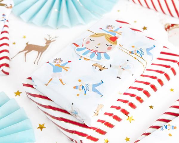 12 étiquettes cadeaux de Noël