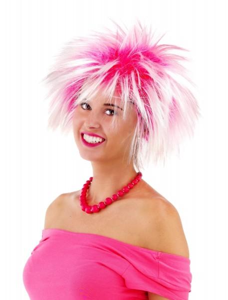 Crazy in Pink Perücke