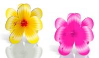 4 Hibiskus Aufsteller Summerbeach