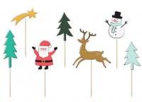 Little Christmas Tortendeko 7-teilig