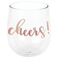 Cheers Kunststoff Weinglas 398ml