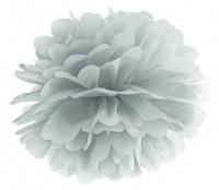 Pompon Romy silber 25cm