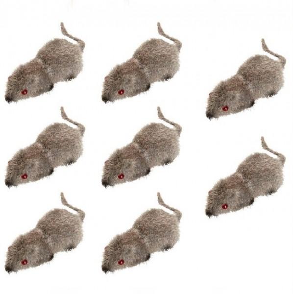 8 Halloween Mäuse Figuren