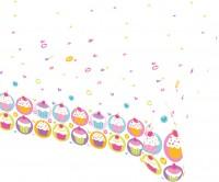 Cupcake Party Tischdecke 1,8 x 1,2m