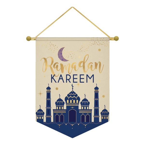 Ramadan Textil Schild 28 x 38cm
