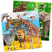 Safari & Dschungel Servietten 20 Stk