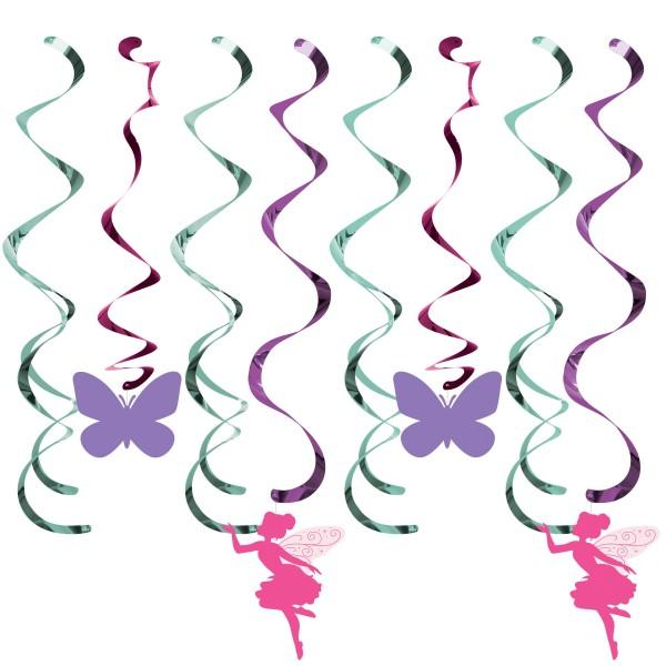 8 Flower Fairy Spiralhänger