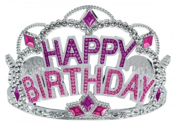Feliz cumpleaños Pinky Princess Crown