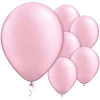 100 Latexballons Pearl Pink 28cm