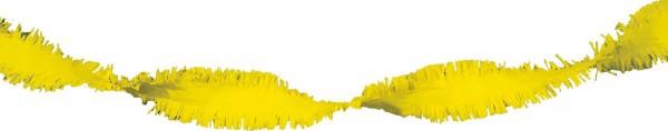24m rotating garland yellow