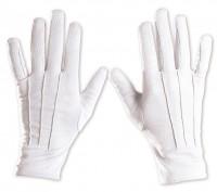 Klassische Handschuhe weiß