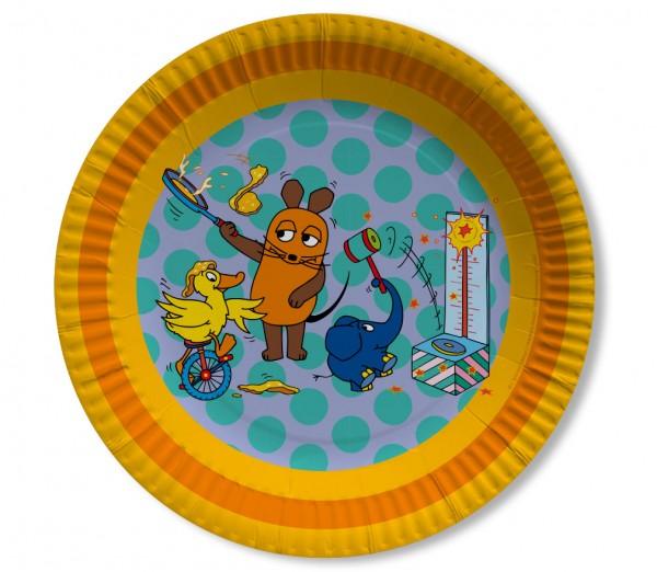 8 Sendung mit der Maus Teller 23cm