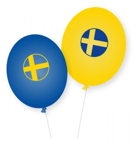 8 Schweden Luftballons Lund 28cm