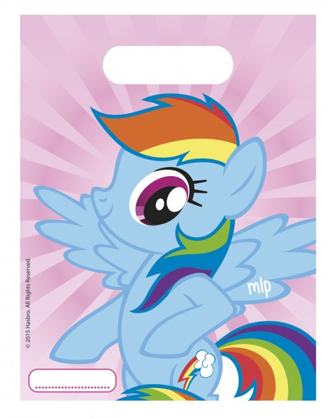 6 bolsas de regalo Pony & Friends