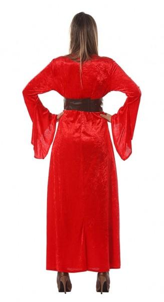 Rote Priesterin Kostüm für Damen
