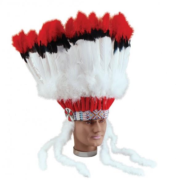 Federkopfschmuck Indianerhäuptling