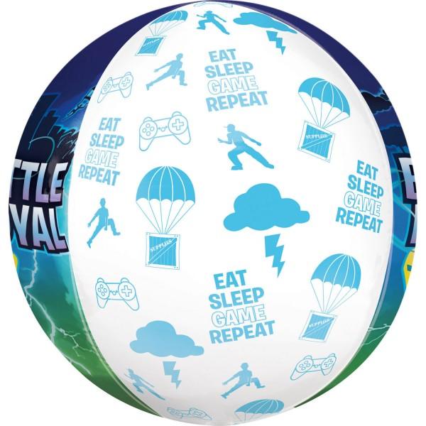Battle Royal Birthday Orbz Ballon 38 x 40cm