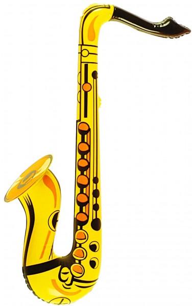 Inflatable golden saxophone 55cm