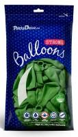 100 Partystar Luftballons apfelgrün 27cm