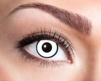 Verrückte Weiße Kontaktlinsen